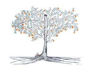 Evan and the Orange Tree